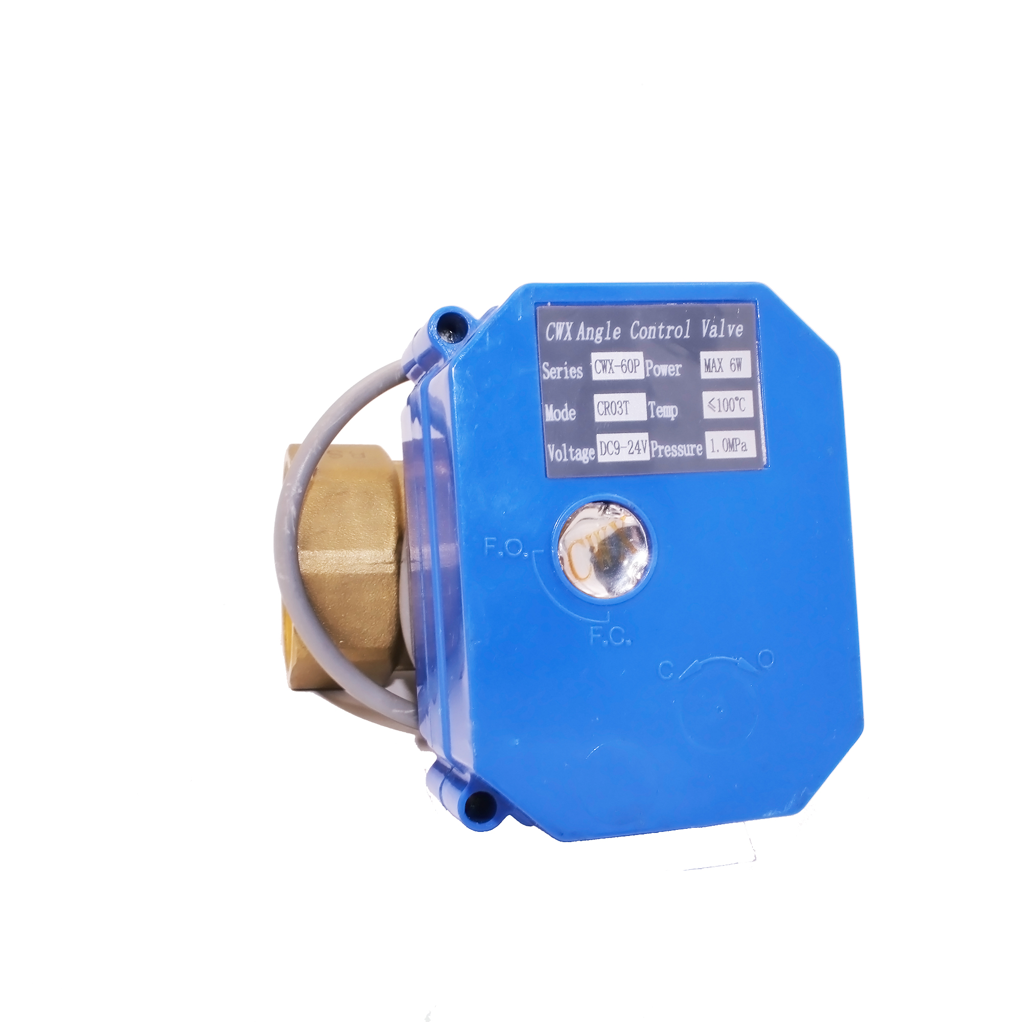 "DC5V 3/4"" 2-way electric mini valve for water treatment equipment"