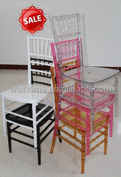 plastic tiffany chair, resin chiavari chair, dining chair, restaurant chair, waterproof chair