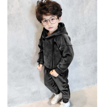 tad15002 2017 winter new design thick warm fashion boys wholesale hoodie clothing