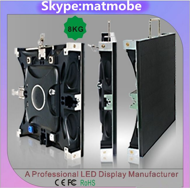 special offer Die-casting aluminium cabinet p3 p4 p5 p6 smd led display screen panel boards