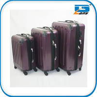 2014 hot-selling ABS 3pcs set hard trolley travel bag