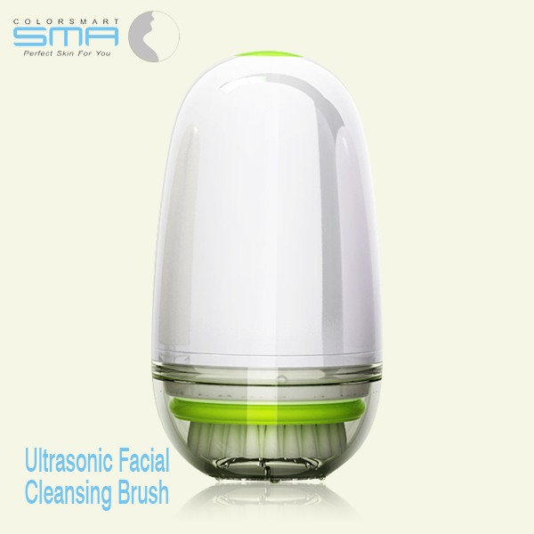 New Adult Cheap Battery Powered Mini Supersonic Vibrating Facial Cleaning Brush With Waterproof For Exfoliating And Massage