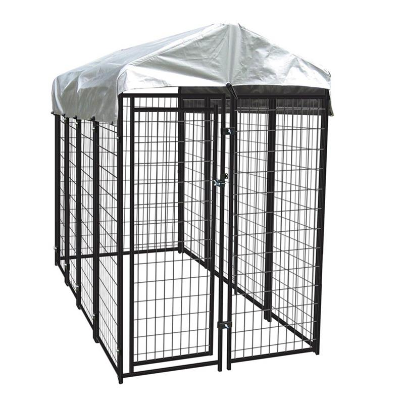 Huilong factory galvanized comfortable acrylic pet cage 26 years welded technology