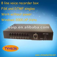 High quality 8 line voice recorder boxvoice recording doll