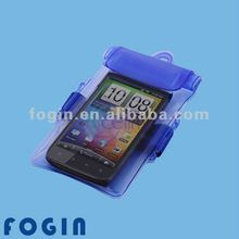PVC waterproof bag for mobile phone,camera,MP3 pouch with zip lock