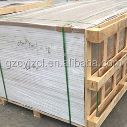 1.22x2.44m thin strong fireproof board bath cabinet pvc foam board