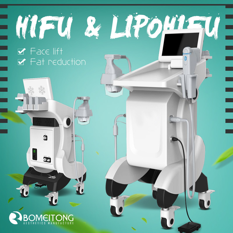 Lipohifu and hifu 2 generation focused ultrasound for face lift and body slimming