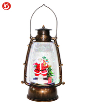 Santa Decoration Christmas snow globe Lantern