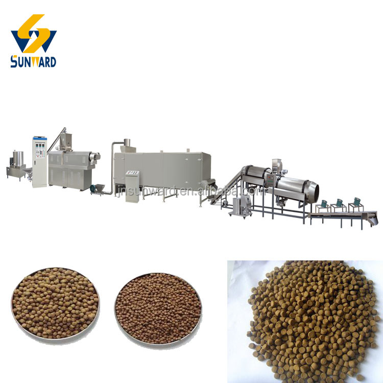 Advanced Technology Floating Fish Feed Production Machine