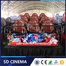 Hot Sale 5D Cinema Systems Chair Gaming 4D Theater