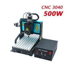 Professional wood cnc router machine Mingda Hot Sale 4 axis cnc router 500w 3040