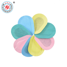 Manufacturer disposable Hypoallergenic adhesive eye patch colorful eye bandage with CE FDA ISO13485