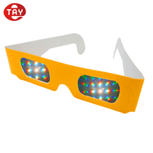 NEW Cheap paper rave prism funny 3D eye glasses