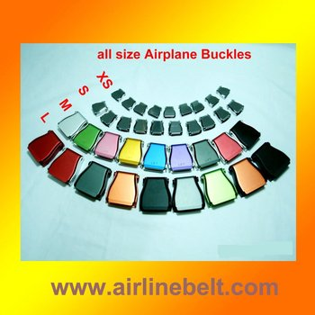 Top quality airplane seat belt buckle