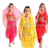 Supply Wholesale Indian Girls Children Belly Dance costumes