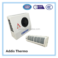 DC powered air conditioner for carbin for cooling