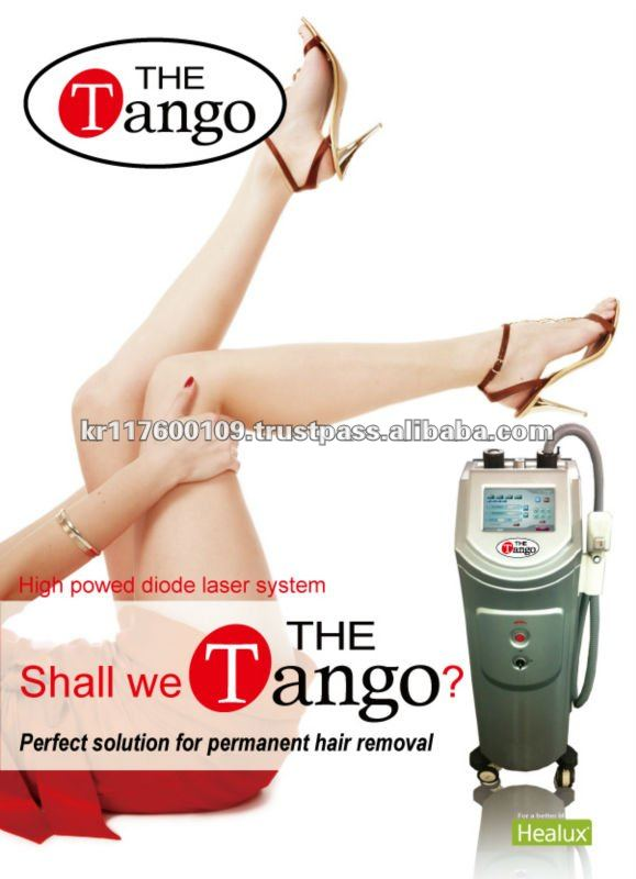 Comfortable Tx with laser machine for hair removal 810nm Diode Hair removal laser (THE Tango)