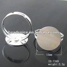 jewelry stretch base finger ring bezel tray 7349