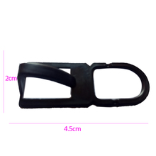 Custom black small size plastic durable clothes hangers connector