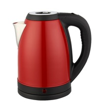 Baidu Wide Mouth 2.0L Spray Paint Stainless Steel Electric Kettle Fast Boil with 2 Years Using Life