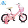 Red color with rear box front basket tiger cartoon image baby girl favorite type kid bike cycle,children bike bicycle
