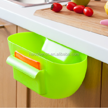 Cute Strawberry Waste Bin Bucket Garbage Can Trash Dustbins Container Rolling Cover Type Desktop Storage Organizer Holder