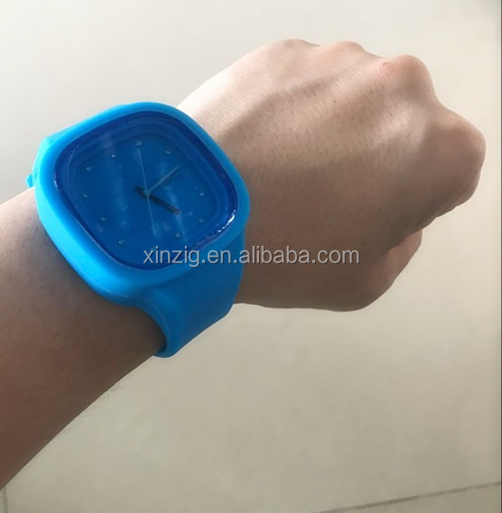 Top Quality Fashion Silicone Watch 2017 Factory Price