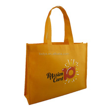 recycled non woven fabric shopping bags