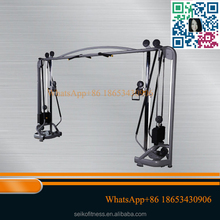 Luxury Commercial Adjustable Cable Crossover Gym Equipment Jinggong fitness