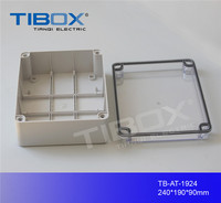 Hot Sales IP66 CE certified TB Series wall mount plastic enclosure