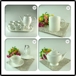 4pcs 250ml Bulk Tea Cups And Saucers Cheap White Tea Cup Sets Porcelain