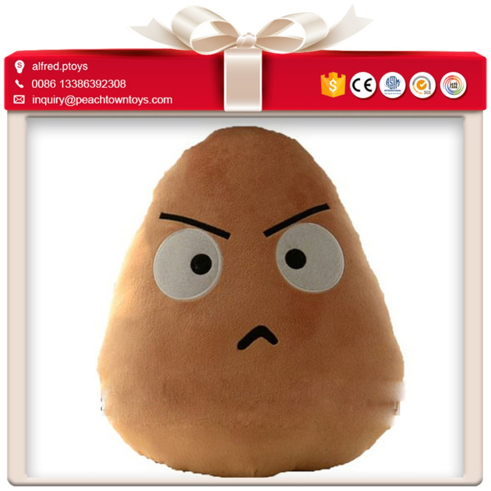 Competitive prices cartoon cute plush potato toys