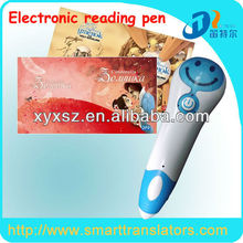 Talking pen for the blind DC006 Children reading pen with Chinese, English,Arabic,Russian Books