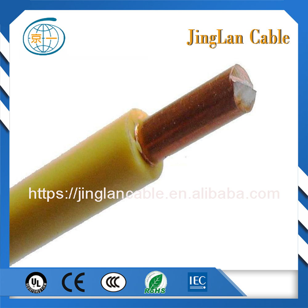 Household Single Core 0.5mm Solid Copper PVC Coated Electric wire 450/750V