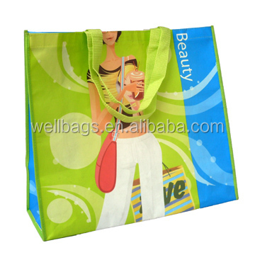 WELL BAG fashion laminated non woven bag