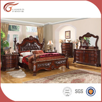 Best selling luxury classic cheap european style bedroom home furniture WA143
