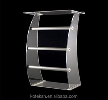 Acrylic desktop lectern / acrylic church lectern stand church pulpit