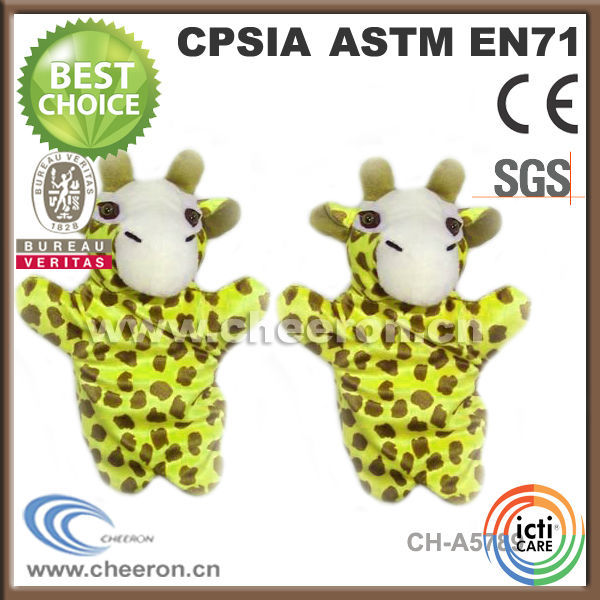 Deer forest animal full body puppets for sale