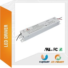 UL FCC ROHS 48w 50w 60w 70w 80w 90w 100w constant voltage dc 24v potted constant current 2000ma-4000ma led strip driver