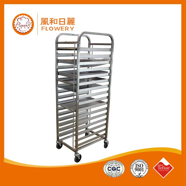 Plastic kitchen bakery trolley cart made in China