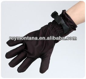 Water-proof vibrating sex toys glove