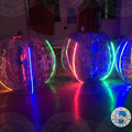 HOLA LED bumper ball/inflatable balls for people/bubble football