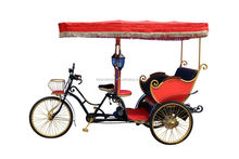 Factory directly passenger use electric three wheel e passenger rickshaw taxi bike