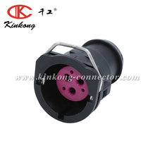 Kinkong Tyco/Amp High Quality 3 Pin Female Plug Electrical Waterproof Housing Sealed Auto Connector