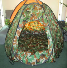 waterproof durable portable hunting tentdome camo tent Hidden Hunting KT5001