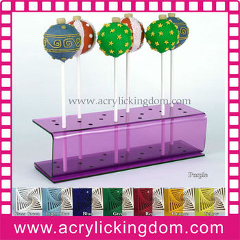 Colorful Acrylic lollipop display