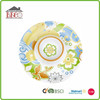 Round melamine section tray, wholesale chip and dip tray, round tray