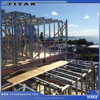Light steel structure frame for coastal building design for Coastal building design