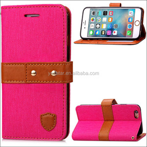 New products anti-drop phone case,easy breath Flip Cover for iphone 6 case, for iphone 6 plus leather case