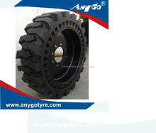 ANYGO brand 12-16.5 XZ13 Skid steer solid tyres / tyres